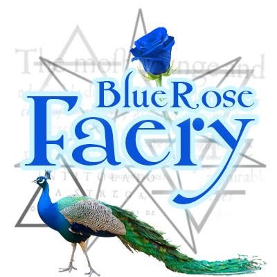 Blue Rose Faery