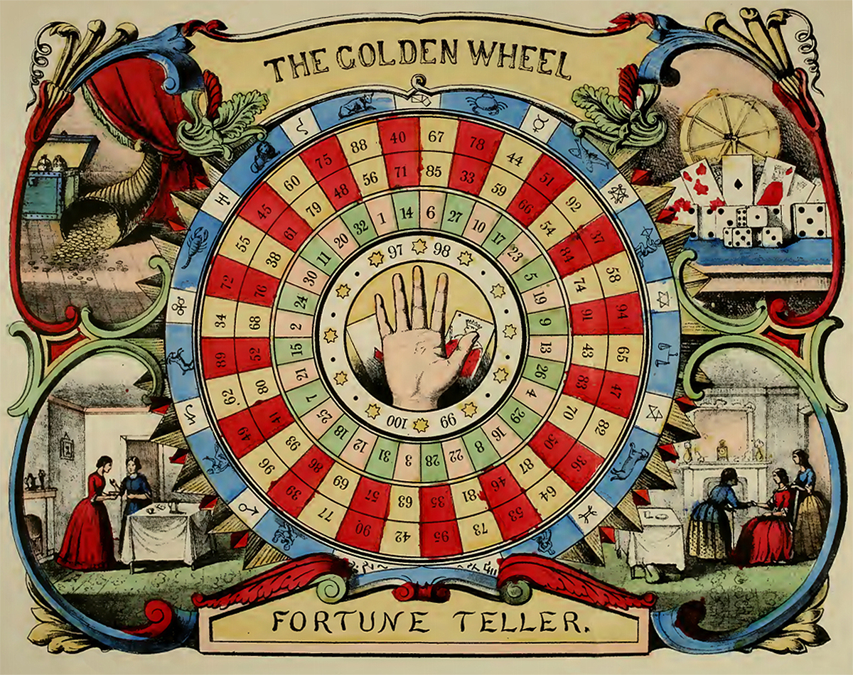 The Golden Wheel Fortune Teller